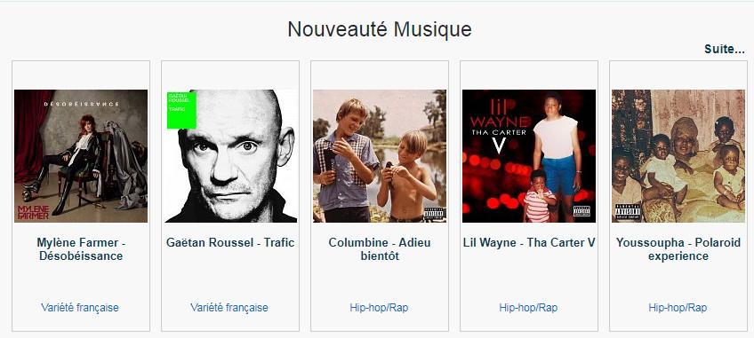 Musiques et Audios