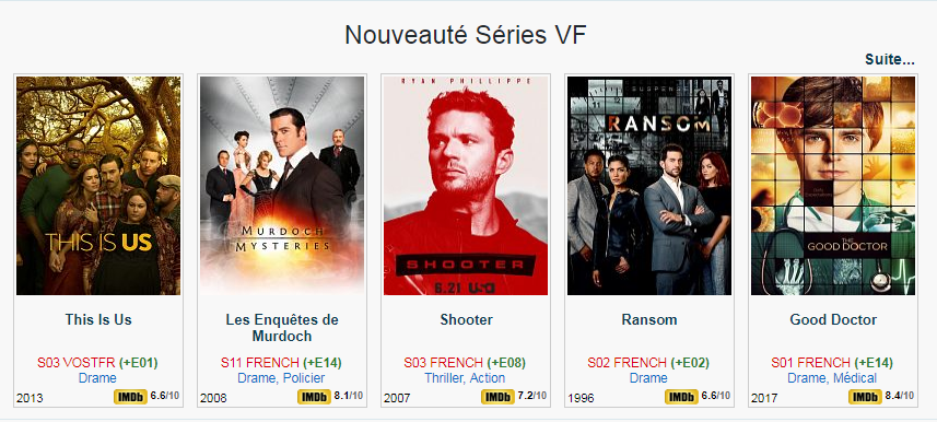 Séries TV