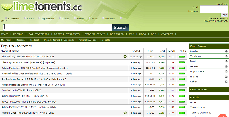 LimeTorrents.cc