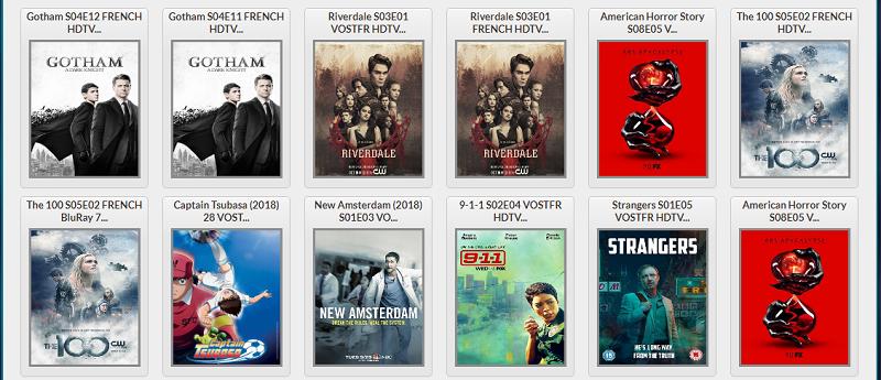 Films disponibles sur Lien Torrent